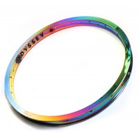 Oil Slick Rim Odyssey Seven K‑A custom by Armour Bikes