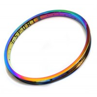 Oil Slick Rim GSPORT Ribcage custom by Armour Bikes