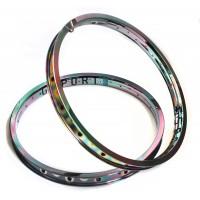 Dark Matter Rims GSPORT Ribcage custom by Armour Bikes