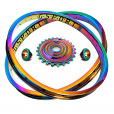Oil Slick Rim GSPORT Ribcage custom by Armour Bikes + gifts