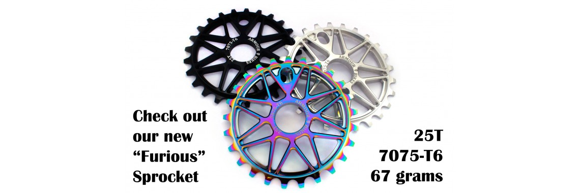 The Furious Sprocket - clean design for affordable price