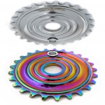 Shockwave oil slick sprocket
