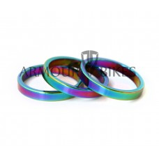 "Headset Spacer 3pcs 1-1/8"" 5mm oil slick"