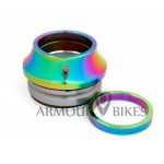 "Oil slick Headset 1-1/8"" integrated"