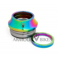 "Integrated Headset Armour Bikes 1-1/8"" Oil Slick"