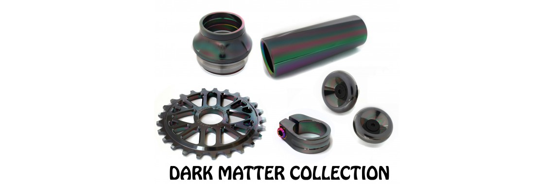 Oil slick goes to history....dark matter is here!