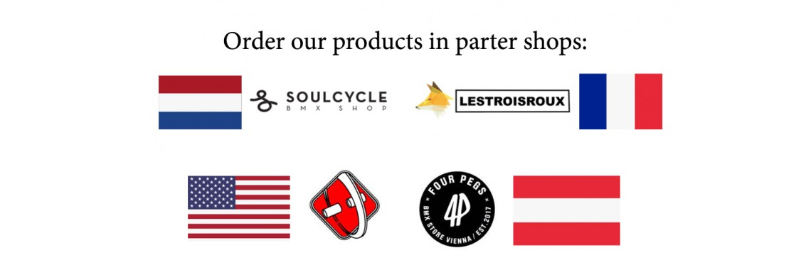 Buy our Products in partner shops
