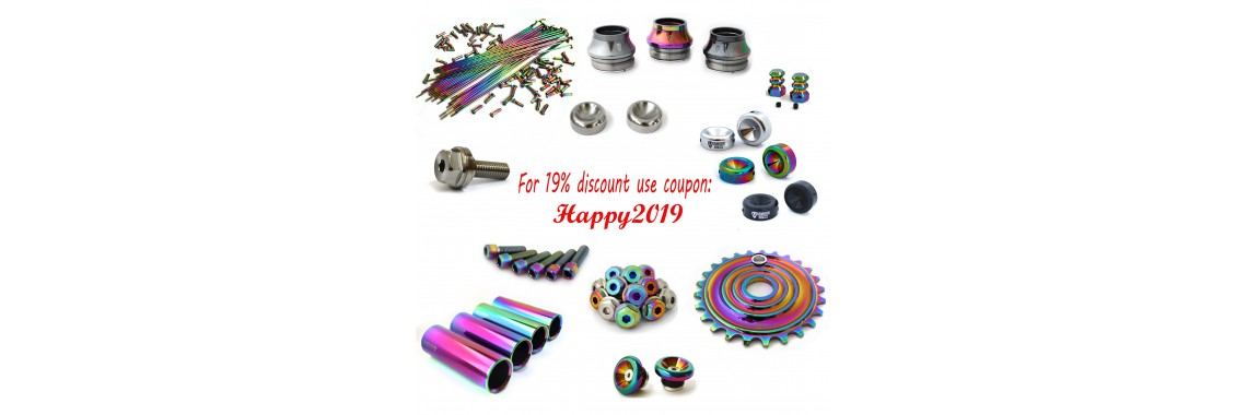Enter new year with new parts!