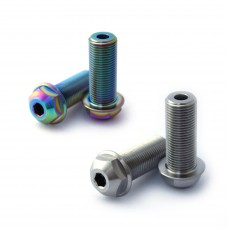 14mm Titanium Hub Axle bolt Silver Oil Slick Clutch V2, Antigram