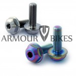Oil slick hub bolts 3/8x24tpi