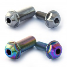 Titanium Hub Axle bolt Odyssey Clutch Set Oil Slick Silver