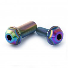Titanium Hub Axle bolt Odyssey Clutch Set Oil Slick