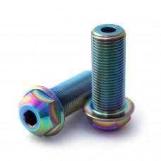 14mm Titanium Hub Axle bolts Oil Slick Clutch V2, Antigram