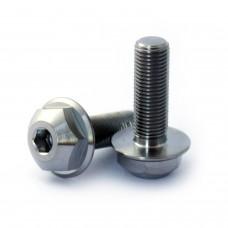 Titanium BMX hub bolts 3/8x24tpi SIlver