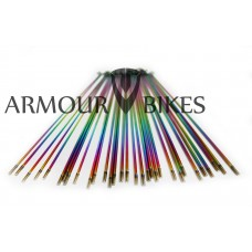 14G BMX Spokes Oil Slick